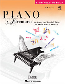 Piano Adventures Level 2B Sightreading