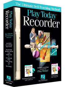 Play Today Recorder Complete Kit