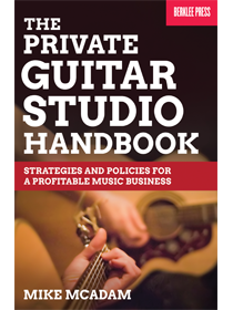 Private Guitar Studio Handbook