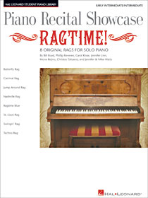 Piano Recital Showcase Ragtime