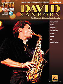 David Sanborn Saxophone Play-Along