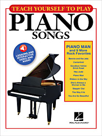 Teach Yourself to Play Piano Man & 9 More