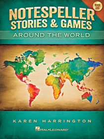 Notespeller Stories & Games Around the World