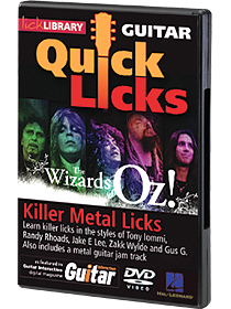 Quick Licks: Wizards of Oz DVD