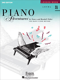 Faber Piano Adventures New Second Editions
