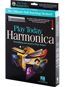 Play Harmonica Today Complete Kit!