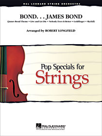 Bond ... James Bond - Pop Specials for Strings