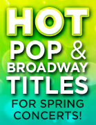 2015 Pop & Broadway Choral Releases