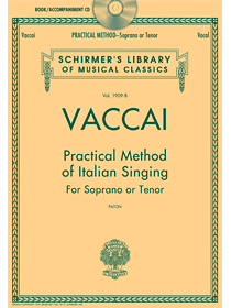 Vaccai Classic: Now with CD!