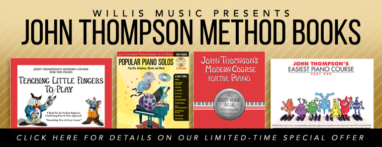 John Thompson Piano Methods
