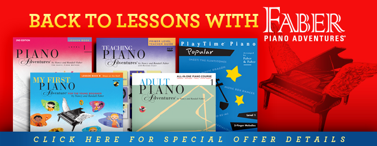 Faber Piano Adventures Lessons