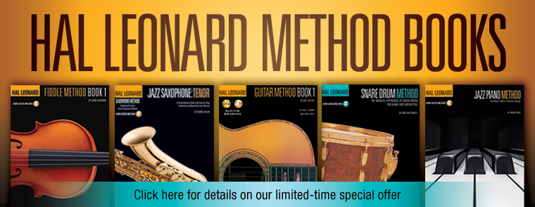 Hal Leonard Method Books