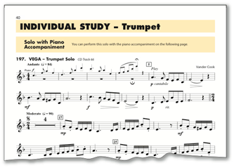 From the very best of student etude and solo literature key scale and