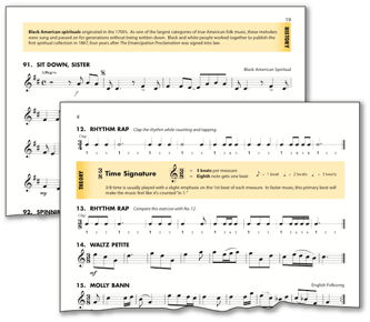 Reading music notes for beginners