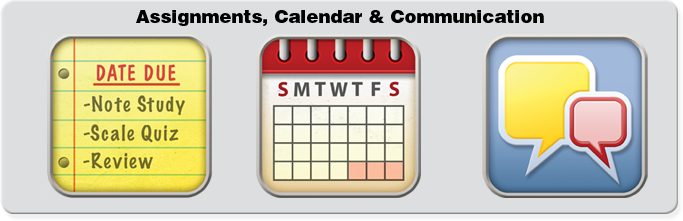 Assignments, Calendar & Communication