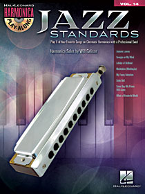 Jazz Standards Harmonica Play-Along