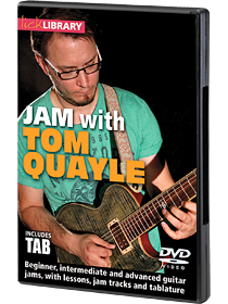 Jam with Tom Quayle Lick Library DVD
