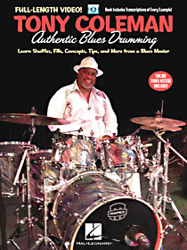 Tony Coleman Authentic Blues Drumming
