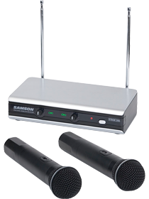 Stage v166 Handheld Dual Vocal Wireless System