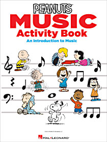 Peanuts Music Activity Book