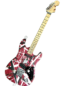 Van Halen Miniature Guitars
