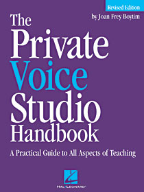 Private Voice Studio Handbook - 2nd Edition