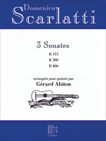 3 Sonates for Guitar