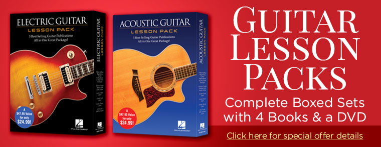 Guitar Lesson Packs