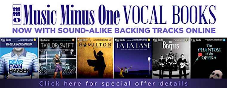 Music Minus One Vocal Editions