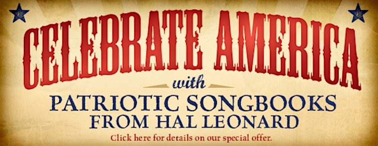 Patriotic Music from Hal Leonard