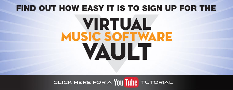 Virtual Music Software Vault