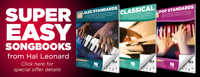 Super Easy Piano Songbooks